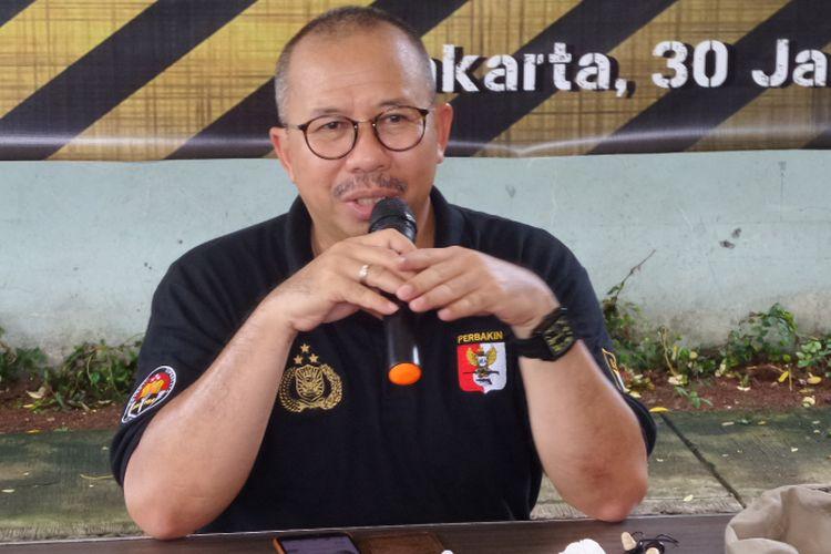 Kepala Divisi Humas Polri Irjen Setyo Wasisto saat ditemui di Lapangan Tembak Senayan, Jakarta, Selasa (30/1/2018).
