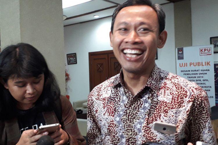 Komisioner KPU Pramono Ubaid Tanthowi