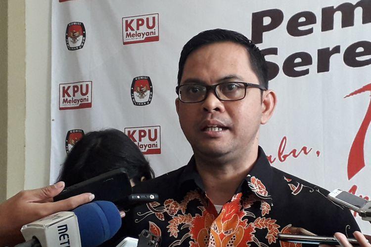 Komisioner KPU Viryan Azis