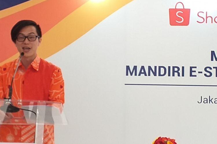 Direktur Shopee Indonesia, Handika Jahja.