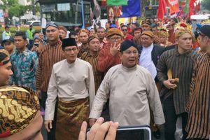 Kubu Prabowo-Sandi Merasa Sudah Unggul di Jakarta, Jabar, dan Banten