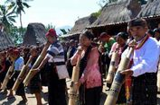 Mengenal Musik Tiup Bambu Bombardom di Kampung Gurusina