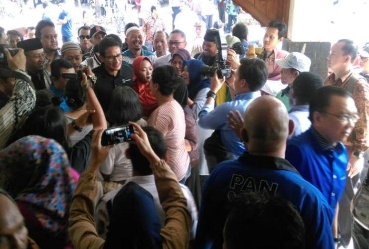Ini Alasan Sandiaga Uno Datang ke Kota Kelahiran Jokowi