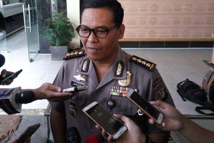 Kabid Humas Polda Metro Jaya, Kombes Argo Yuwono, di Mapolda Metro Jaya, pada Senin (17/7/2017).
