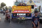 Karangan Bunga 'Terima Kasih Polri' Mendarat di Asrama Brimob KS Tubun