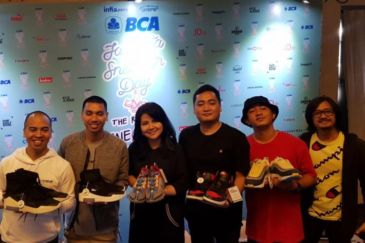 Konferensi pers Jakarta Sneaker Day (JSD) 2019