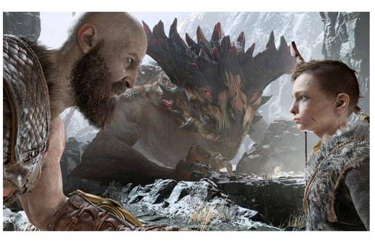 Lebih banyak darah iblis dan artefak magis daripada hubungan orangtua-anak pada God of War.
