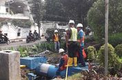 Pipa PAM yang Bocor di Puri Kembangan Selesai Diperbaiki