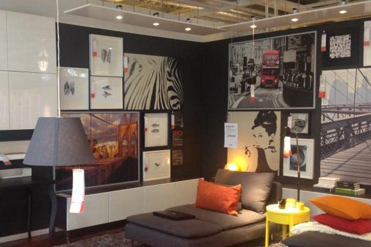 Salah satu room set di IKEA Alam Sutera, Tangerang, Banten. Gambar diambil pada 13 Oktober 2014.