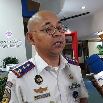 Kepala Badan Pengelola Transportasi Jabodetabek (BPTJ) Bambang Prihartono di Kantor Kementerian Perhubungan, Jakarta, Senin (11/6/2018).
