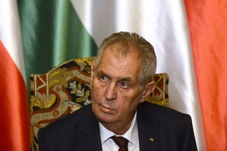 Presiden Ceko Milos Zeman.
