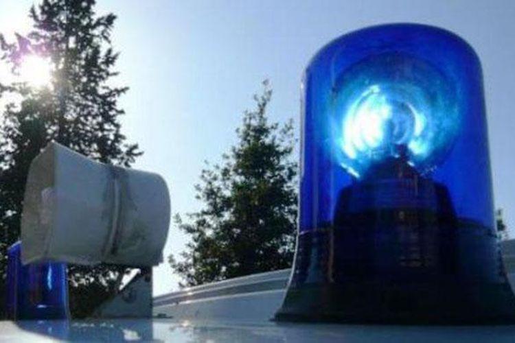 Ilustrasi lampu rotator sirene kendaraan