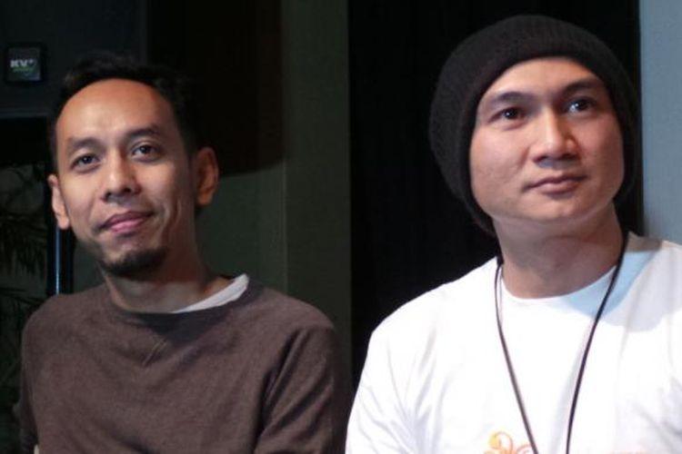 Pongki Tri Barata alias Pongki (kiri) dan Erdian Aji Prihartanto atau Anji
