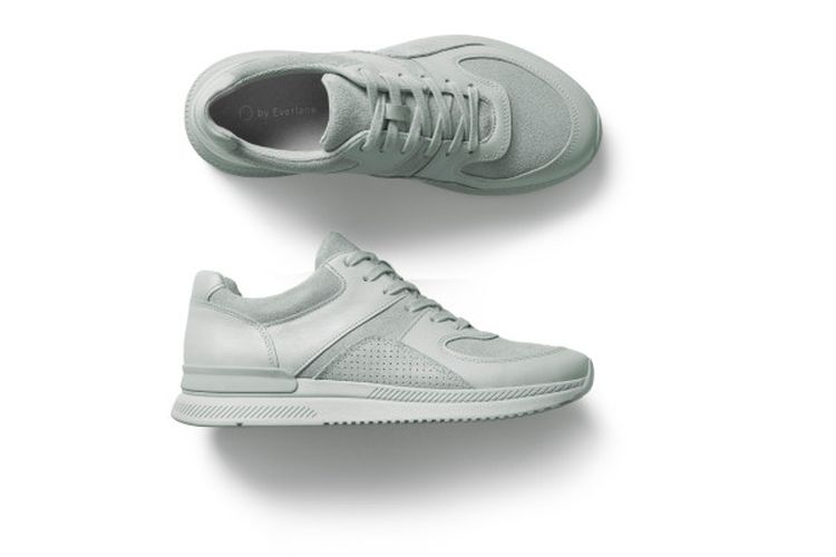 Sneakers in Glacier from Everlanes new Tread collection