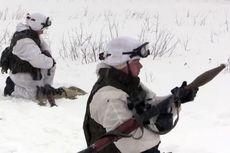 Marinir Rusia Gelar Latihan Militer di Suhu Minus 30 Derajat