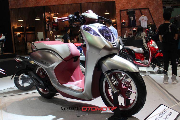 Skutik konsep Honda Project G - IMOS 2018