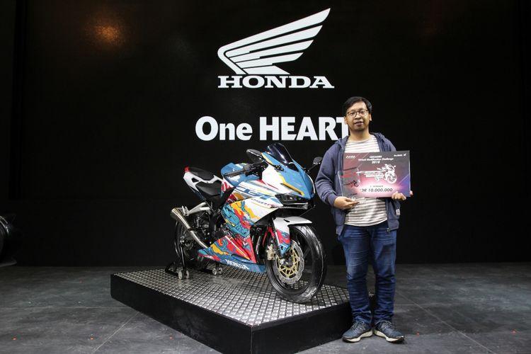 Modifikasi virtual Honda CBR250RR