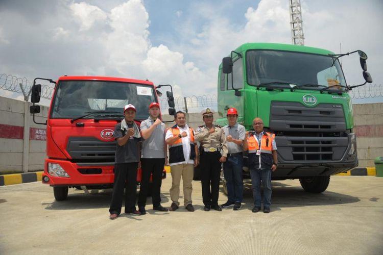 UD Truck memberikan apresiasi pada pengemudi dengan truk