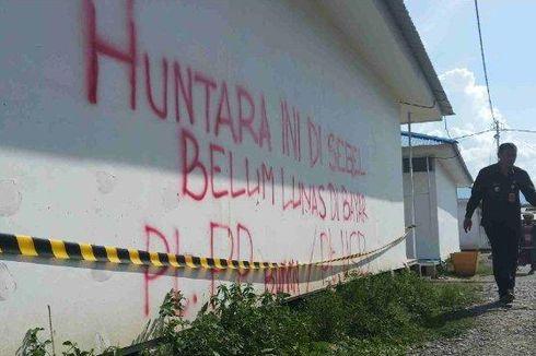 Hunian Sementara Korban Bencana Palu Disegel Kontraktor