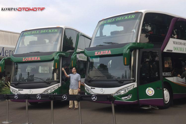 Bus Lorena dan Karina Double Decker hanya layani dua rute