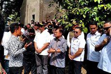 Kunjungi Lombok, Jusuf Kalla Tinjau Pembangunan Rumah Korban Gempa