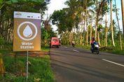 Warga Siapkan Minuman dan Camilan Tradisional di Lintasan Borobudur Marathon 2018