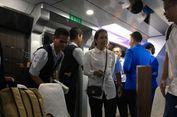 Menteri Rini Pakai Kereta Inspeksi 2 ke Indramayu