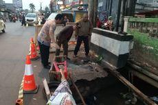 Jalan Ambles di Sawangan, Pemkot Depok Minta Kementerian PUPR Perbaiki