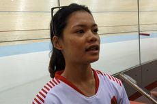 Ayustina Delia Petik Pelajaran dari Hasil Final Point Race Elite Putri