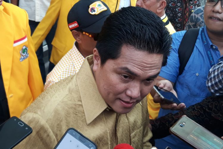 Erick Thohir: Stop Politik Kebohongan, Kasihan Rakyat