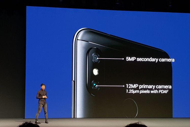 Xiaomi meluncurkan dua ponsel terbarunya yakni Mi A2 dan Mi A2 Lite. Ponsel ini diperkenalkan secara global lewat sebuah gelaran di kota Madrid, Spanyol (24/7/2018).(Yudha Pratomo/KOMPAS.com)