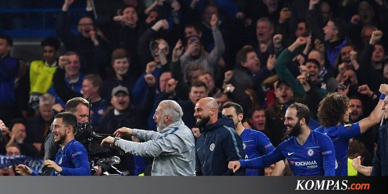Chelsea Vs Eintracht Frankfurt, Menang Adu Penalti, The Blues ke Final Halaman all - Kompas.com