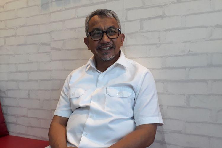 Calon Wakil Gubernur DKI Jakarta, Ahmad Syaikhu, di Kantor Asyikpreneur, Kota Bekasi, Rabu (6/3/2019).