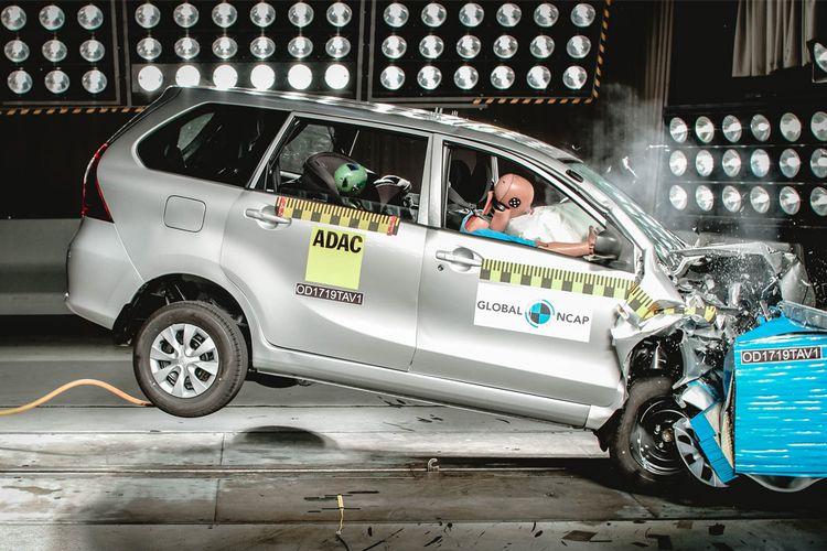 Toyota Avanza raih dua bintang untuk keselamatan penumpang anak-anak dalam tes Global NCAP untuk Afrika Selatan