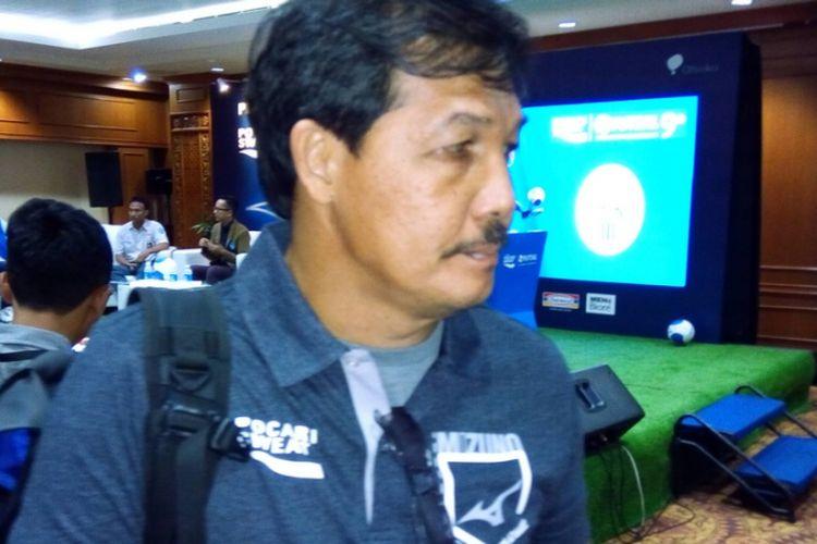 Legenda sepak bola Indonesia, Ricky Yacobi.