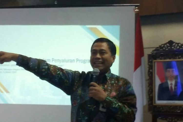 Head of Subsidized Mortgage Division Bank Tabungan Negara Hirwandi Gafar.