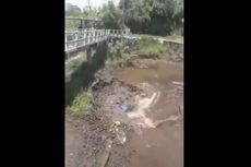 Fenomena Unik, Air Sungai Mengalir ke Dalam Tanah di Yogyakarta