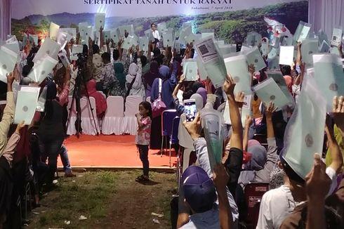 Jokowi Bagi Sertifikat di Pondok Cabe, Polisi Siapkan Rekayasa Lalin