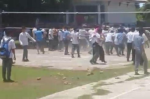 Viral, Video Tawuran Siswa SMA di Buton Selatan