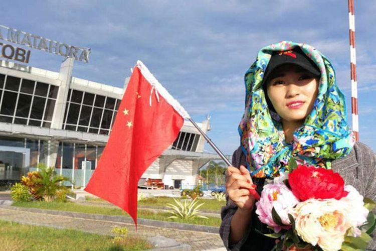 Kegiatan Famtrip awak media China ke Wakatobi, Sulawesi Tenggara, Minggu (1/10/2017) untuk memperkenalkan wisata bawah laut Wakatobi dalam rangka menarik minat wisatawan China berwisata ke Wakatobi.