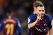 Barcelona Vs Real Sociedad, Gol Jordi Alba Pastikan Kemenangan Barca