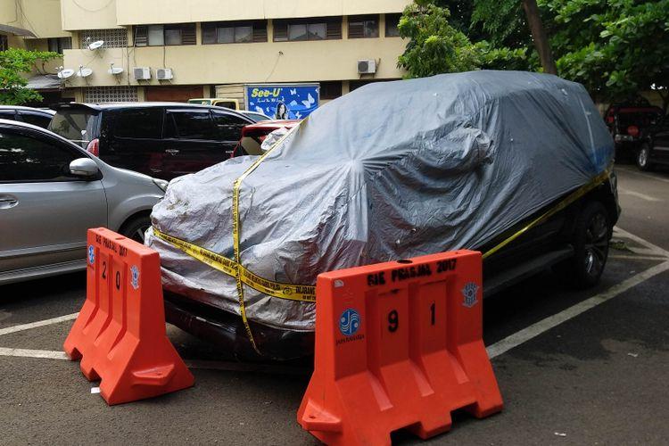 Toyota Fortuner VNT yang tabrakan saat membawa Setnov