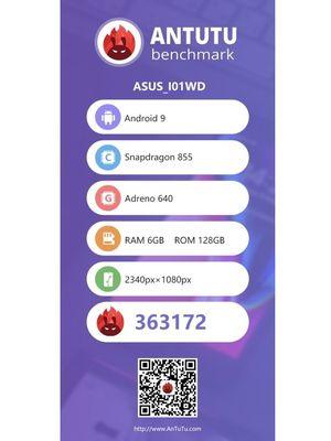 Ilustrasi benchmark AnTuTu Zenfone 6