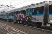 Tunggu Penyelidikan Polisi, MRT Baru Dapat Dibersihkan dari Corat-coret