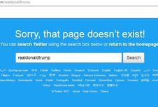Akun Twitter Donald Trump Hilang 11 Menit