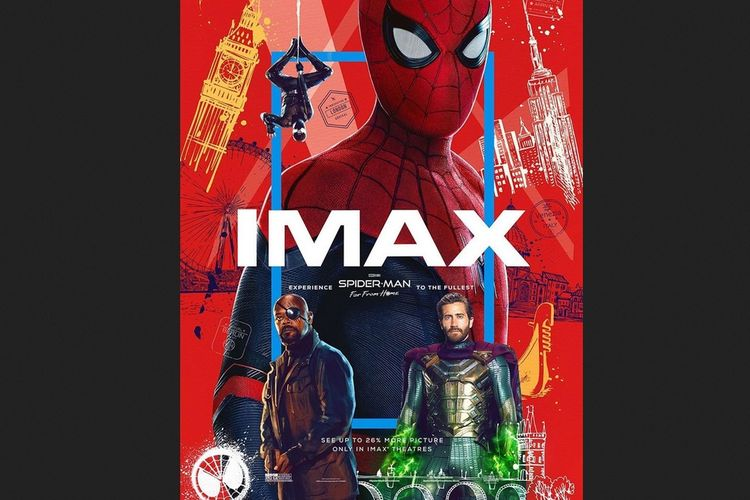 Poster Spider-Man: Far From Home.