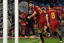 Hasil Liga Italia, AS Roma Menang berkat Gol Menit Akhir