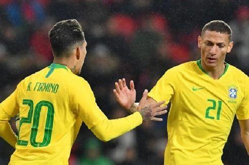 Ceko Vs Brasil, Firmino-Gabriel Jesus Bawa Tim Samba Menang