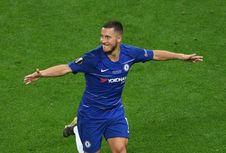 Gabung Madrid, Hazard Ogah Dibandingkan dengan Messi
