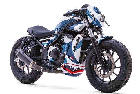 Inspirasi Modifikasi Honda Rebel 500